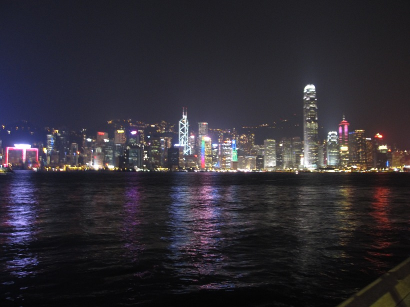 Hong Kong from across the bay