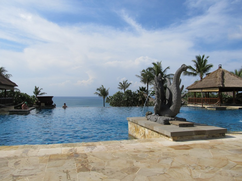 Poolside at AYANA Resort & Spa Bali