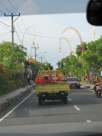 The drive from Denpasar to Ubud