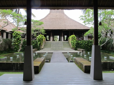 Entrance at Maya Ubud
