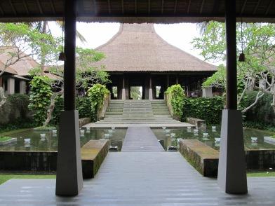 Entrance at Maya Ubud