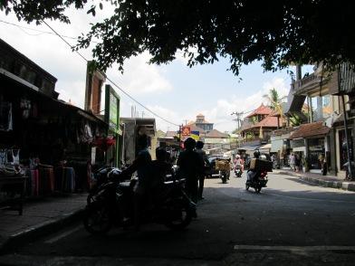 The streets of Ubud