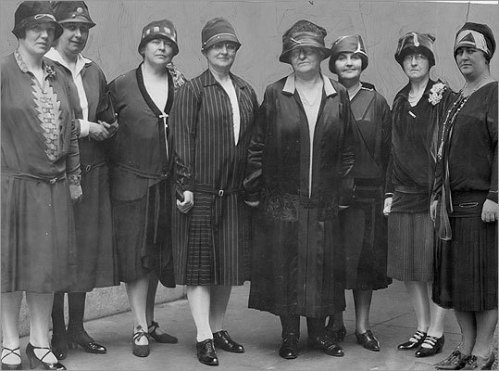 Massachusetts police women, 1927