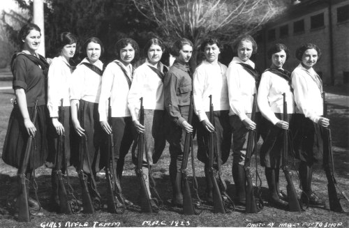 MSU Rifle Team, 1923